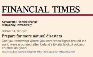 FT Prepare for Natural Disaster